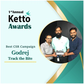 Best CSR Campaign ? Godrej-Track the Bite
