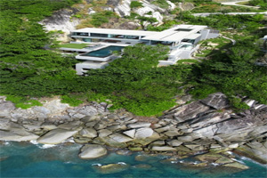 The Villa Was Originally Designed By Original Vision Limited And Is Made To  Look Like It Is Growing Out Of The Cliff Rock. Villa Amanzi, Which  Literally ...
