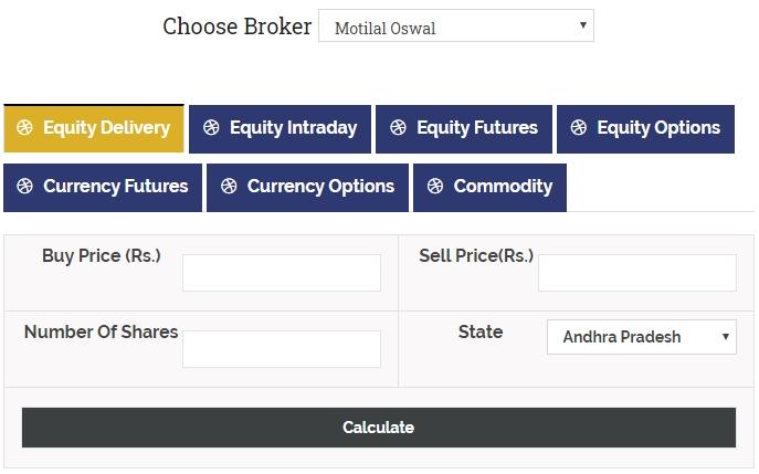 Stock Market Brokerage Calculator - A Boon to Investors