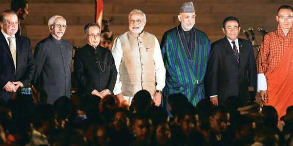 Modi invites SAARC leaders