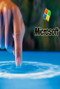 Microsoft designs application to construct a Tactile touchscreen