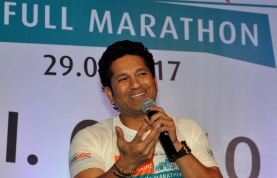 Sachin relives his childhood at new children's park in Bandra
