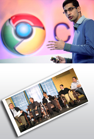 Sundar Pichai; man who runs Chrome at Google