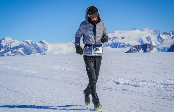 84-year-old Canadian Becomes Oldest to Run Antarctic Marathon