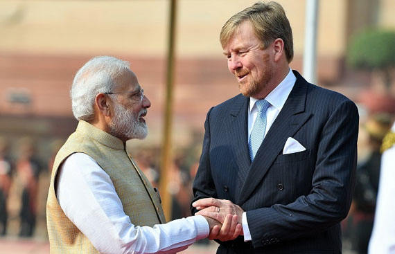 Dutch royals arrive in India, to focus on technology exchange