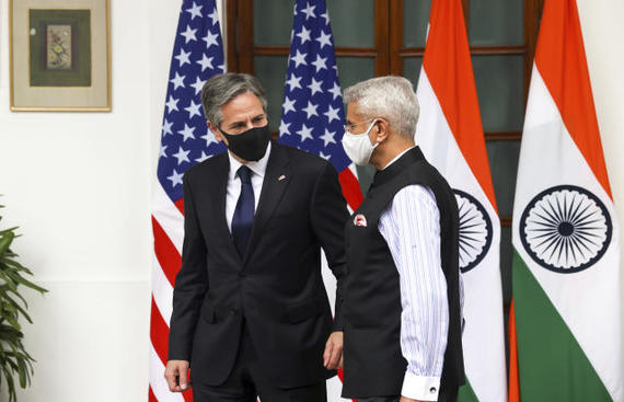 US & India pledge to expand multilateral security partnership