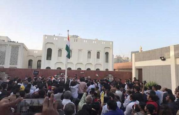 UAE expats celebrate India's 70th R-Day