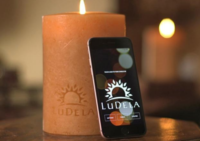 World's First Smart Candle Can Be Lit With Your Mobile!