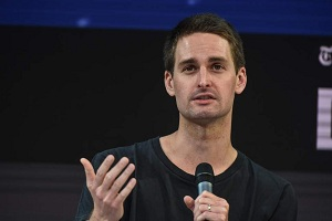 Snapchat Co-founder limits stepson's screen time