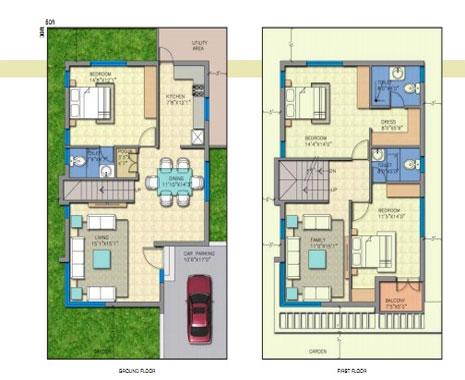Mesmerizing House Plan 2000 Sq Ft India Photos - Best Image Engine ...