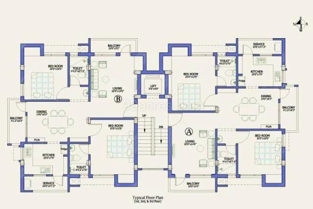 Floor Plan Firms Grace Apartments