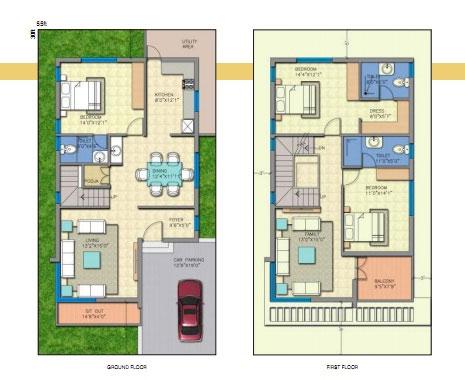 Jr Greenpark Lakefront 3 4 Bedroom Duplex Villas Near Electronic City