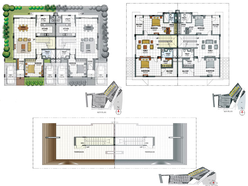 Twin House Floor Plan Home Design And Style