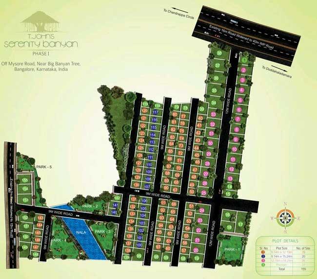 Banyan Tree Apartments: Residential Plots At Off Mysore Road