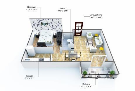 New-Project-:-Gunina-Jeno- Electronic City - 1 BHK New Residential ...