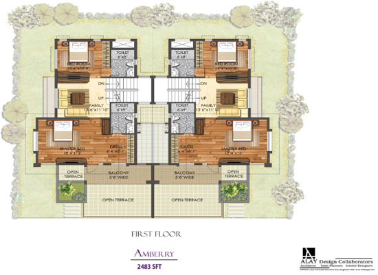 Mayberry Homes Floor Plans: 3/4 Bedroom Independent Villas At