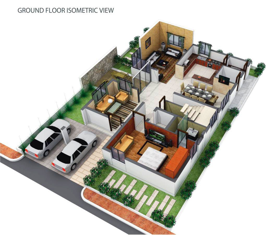Vessella meadows 4 bhk new residential apartment for for 300 yards house plan