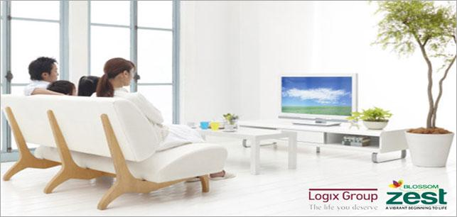Floor Plan : Logix-Blossom-Zest,