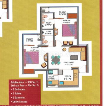 Paramount Emotions 2 3 Bhk New Residential Apartments For Sale