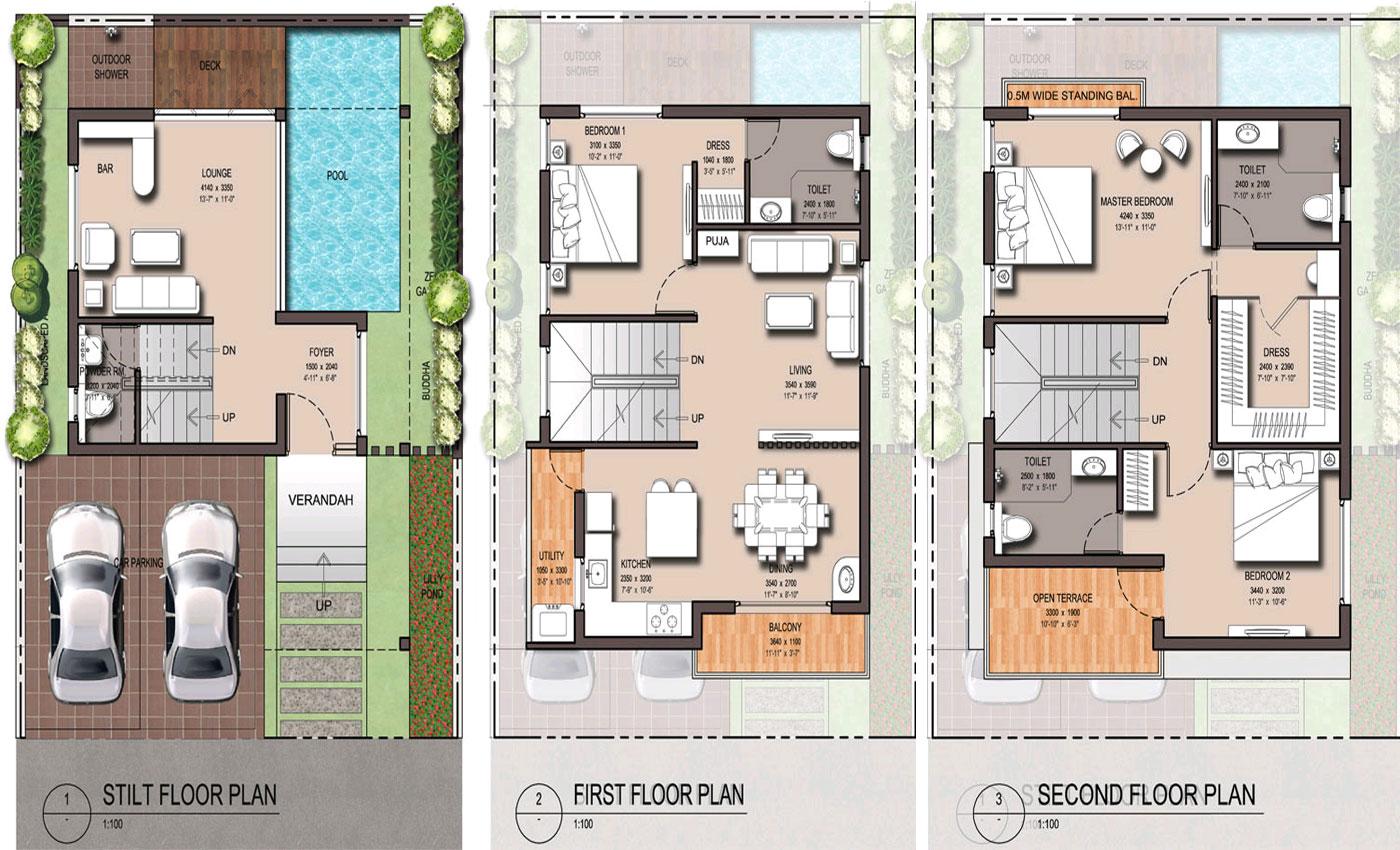 Floor Plan Artha Zen