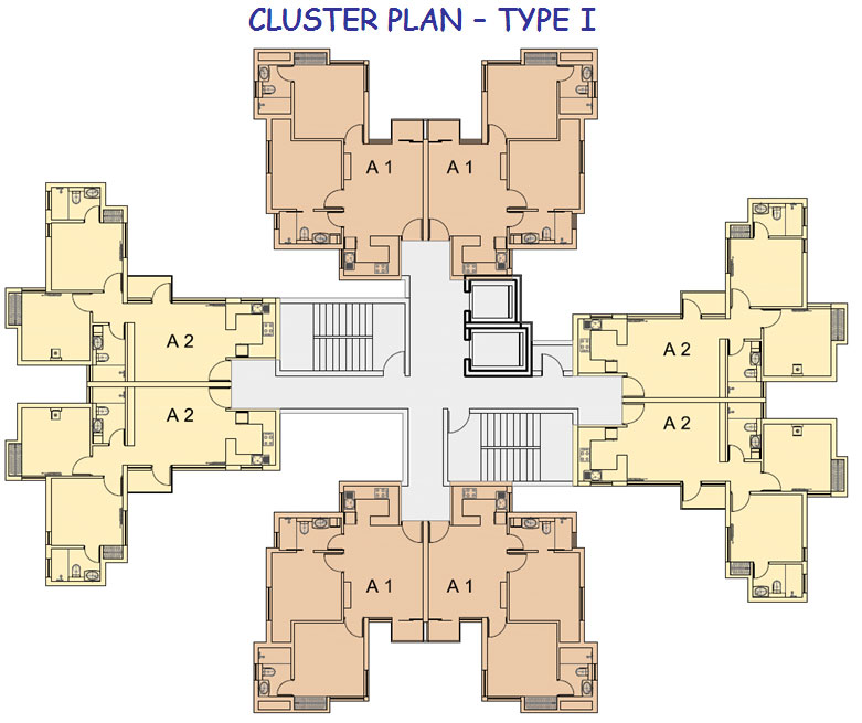 Cluster House Floor Plan: Welcome To Jaypee Greens Aman