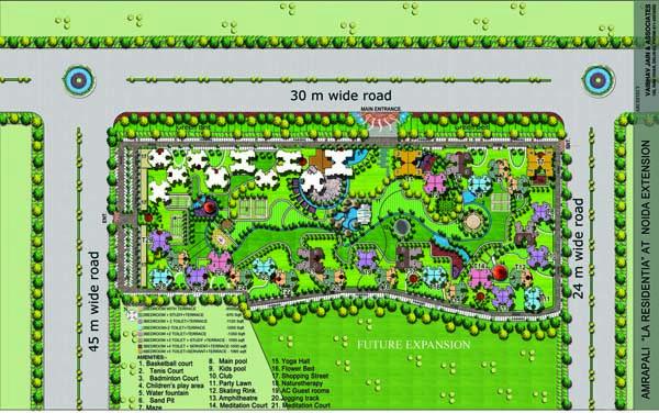 plan q site La Roche-sur-Yon