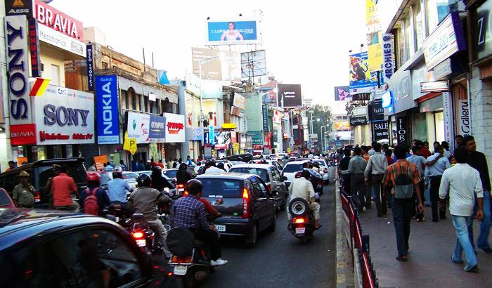 Brigade Road Bangalore Shopping