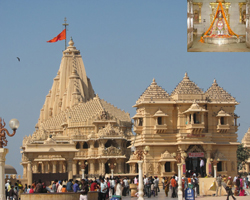 Somnath temple, Saurashtra, Gujarat