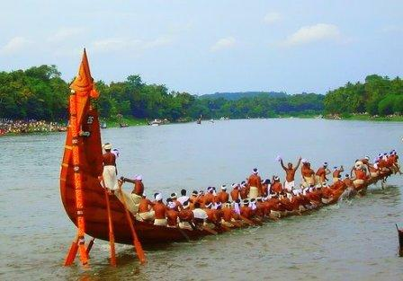 Kerala Snake Boat Races in 2014