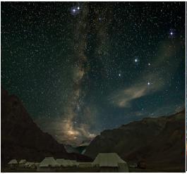 Leh and Ladakh sky gazing