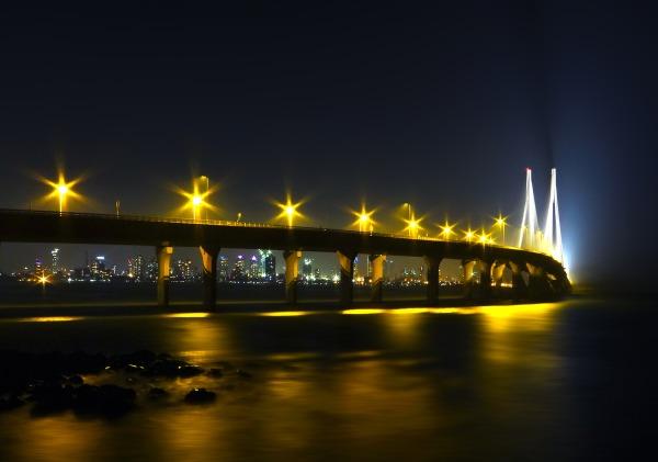 Bandra-Worli Sea Link Mumbai Maharashtra