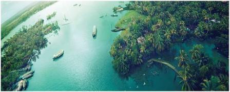 Valiyaparamba Island in Kerala