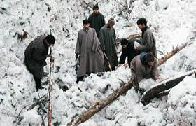 Two trapped in Kashmir avalanche