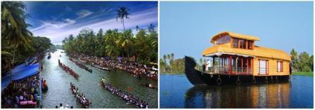 vembanad kayal in kerala