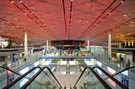10 most amazing airports of modern times page 4 for Cloud kitchen beijing