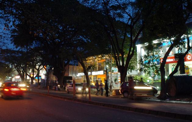 Shopping 100feet Road at Indiranagar Bangalore