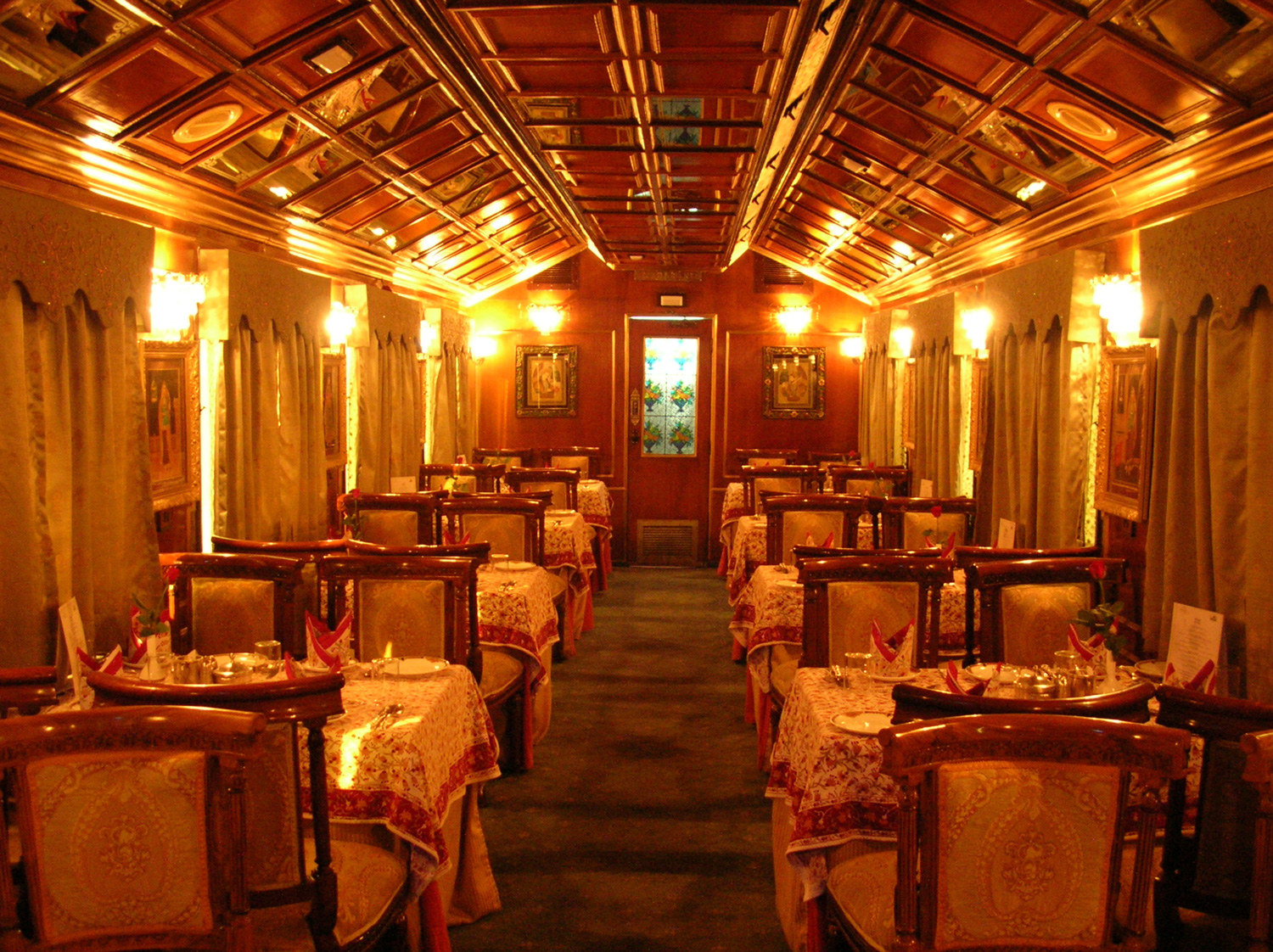 luxury trains in india pdf