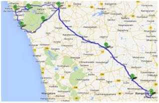bangalore to goa road trip