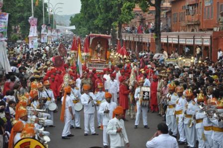 Teej festival, jaipur 30-31 july 2014