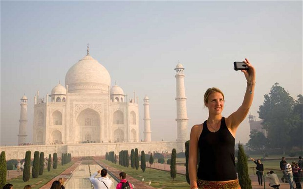 US travelers in India