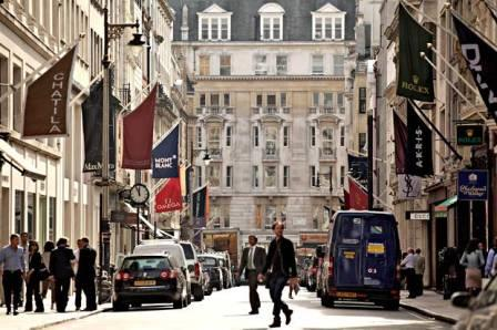 bond street popular shopping places in london