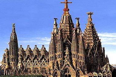 La Sagrada Familia temple: Barcelona