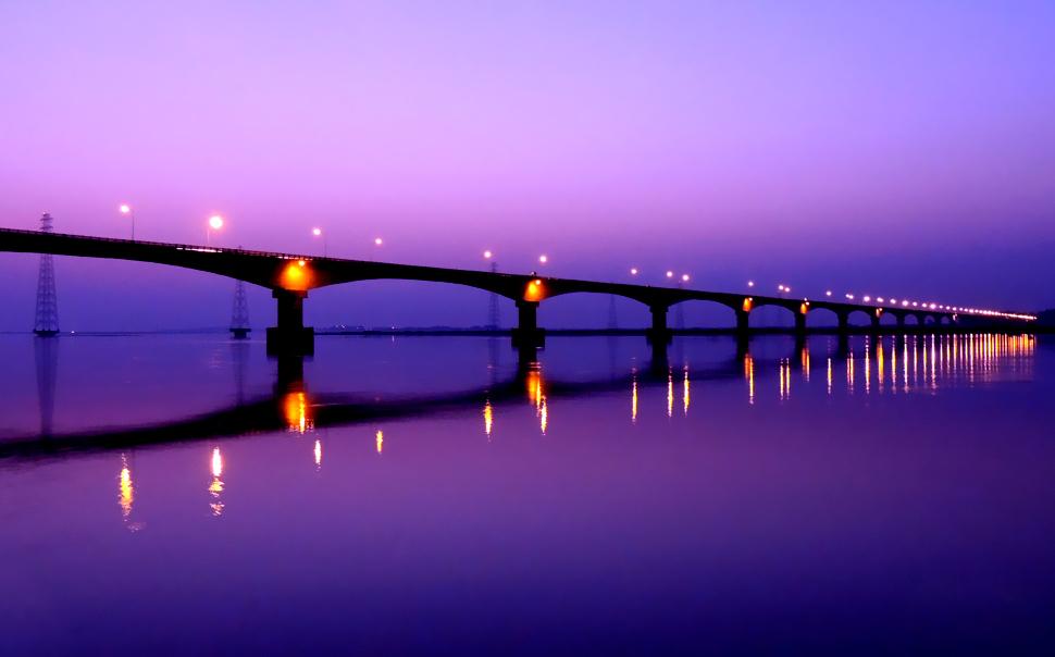 Kolia Bhomora Bridge Tezpur Assam