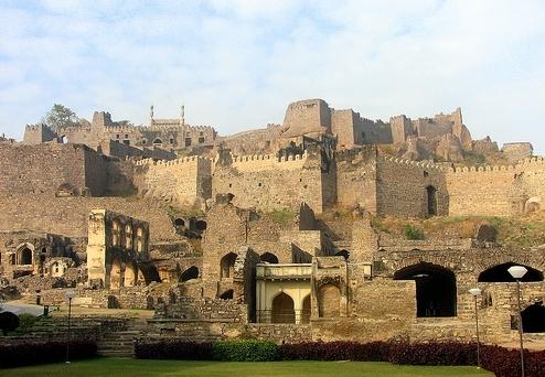 golconda fort hyderabad andhra pradesh