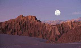 Valle de la Luna (Valley of the Moon), Chile