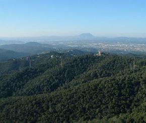 Tibadabo Hills: Barcelona