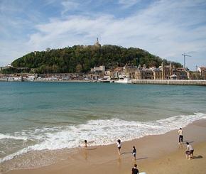 La Concha beach: San Sebastian