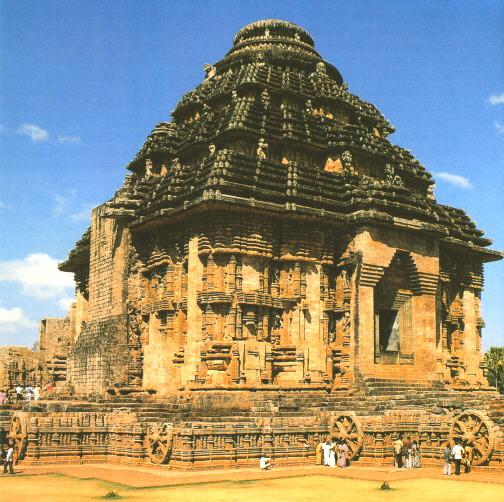 Konark Sun Temple, Odisha